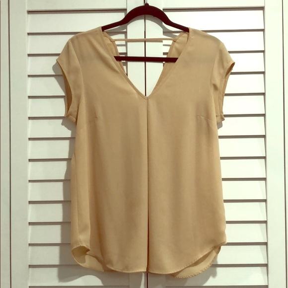 DR2 Tops - Front and back V neck blouse